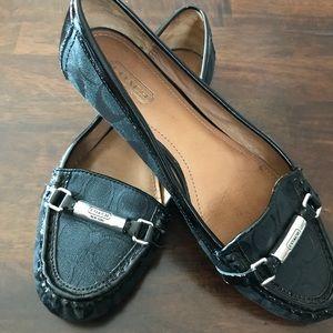 "Coach ""Berdina"" signature loafers"